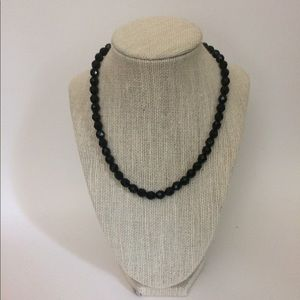 Jewelry - Black faceted beads